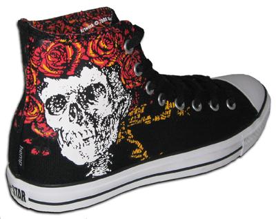 537ff74512b9 Ramones Converse Shoes on Converse Grateful Dead Hemp Shoes